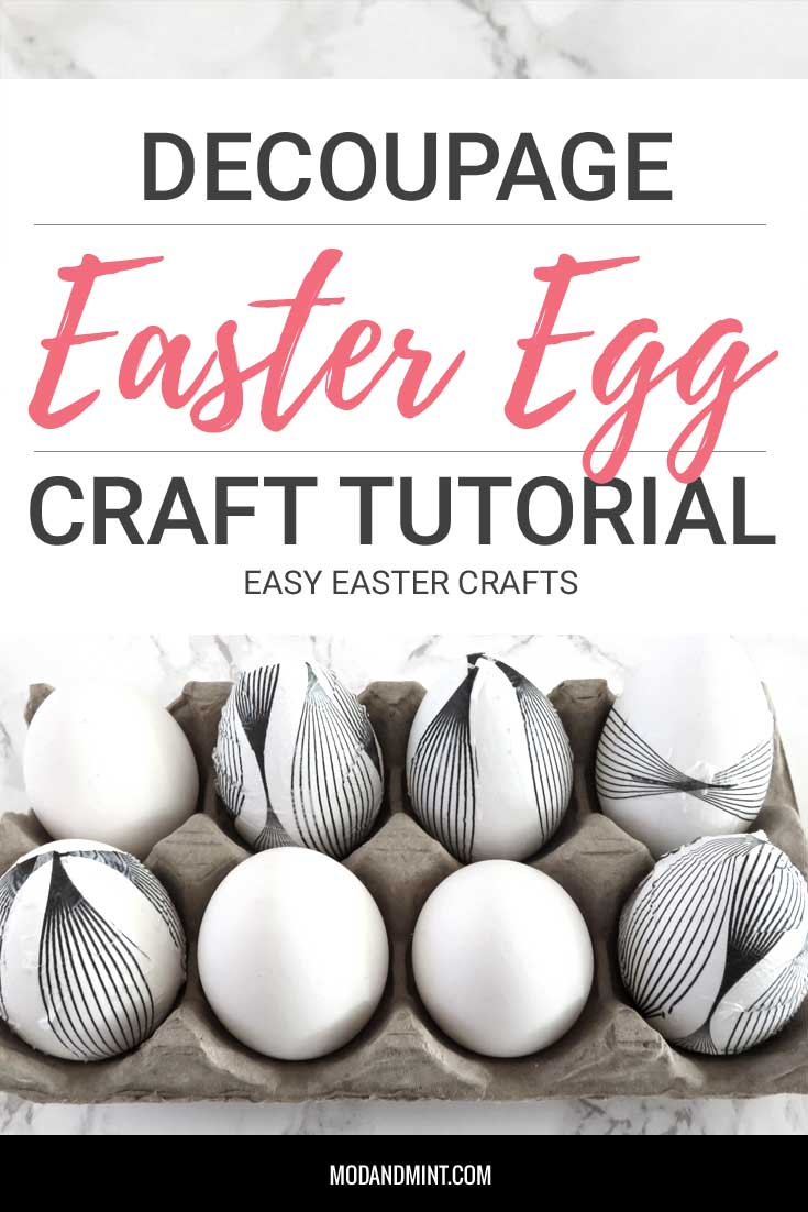 Decorated Easter Craft Eggs