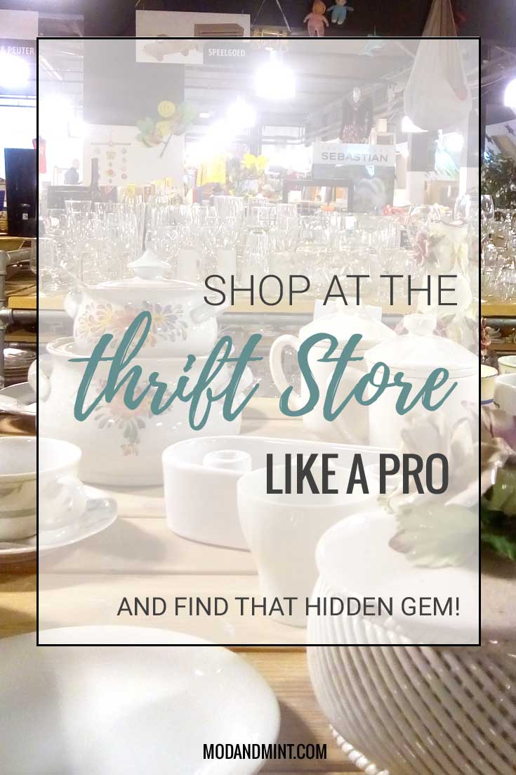 How to shop at the thriftstore like a pro